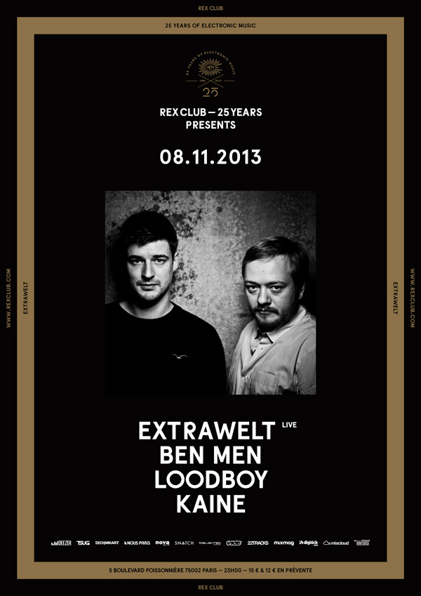 "BTRAX night ""REX club 25 years"" 08.11.2013"