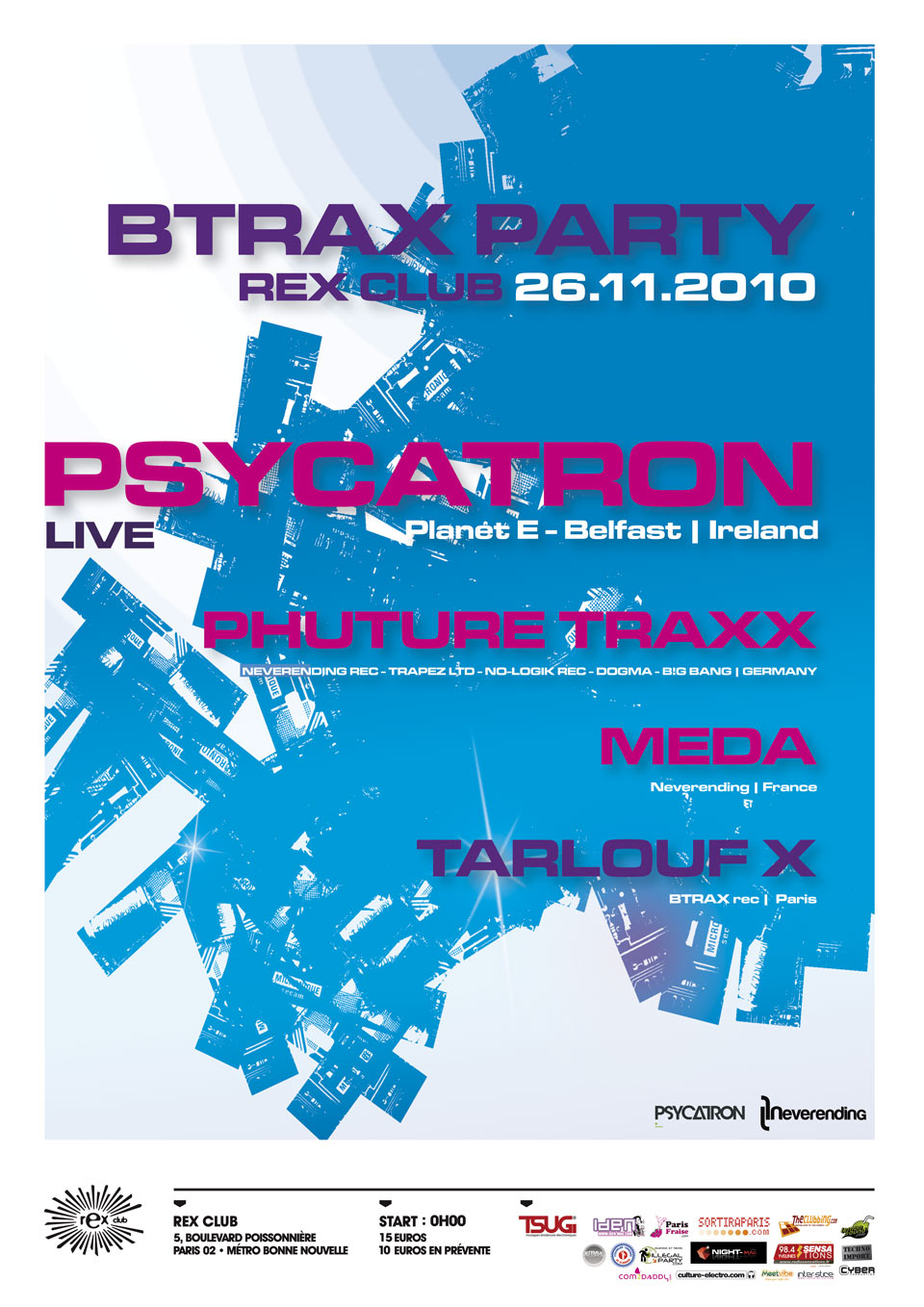 BTRAX party 26.11.10