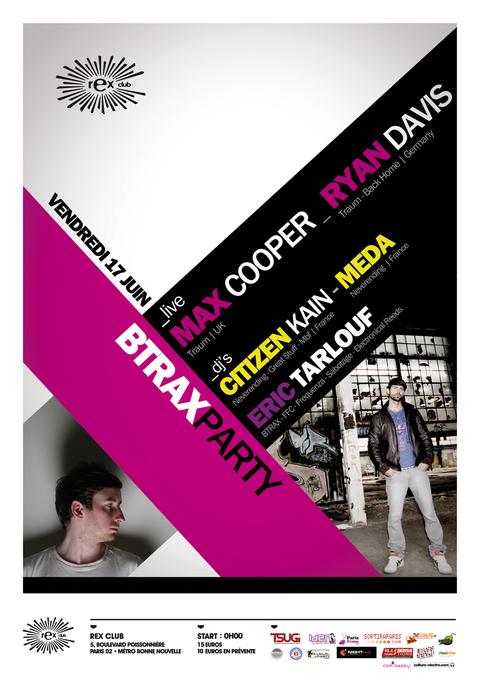 BTRAX party 17.06.11