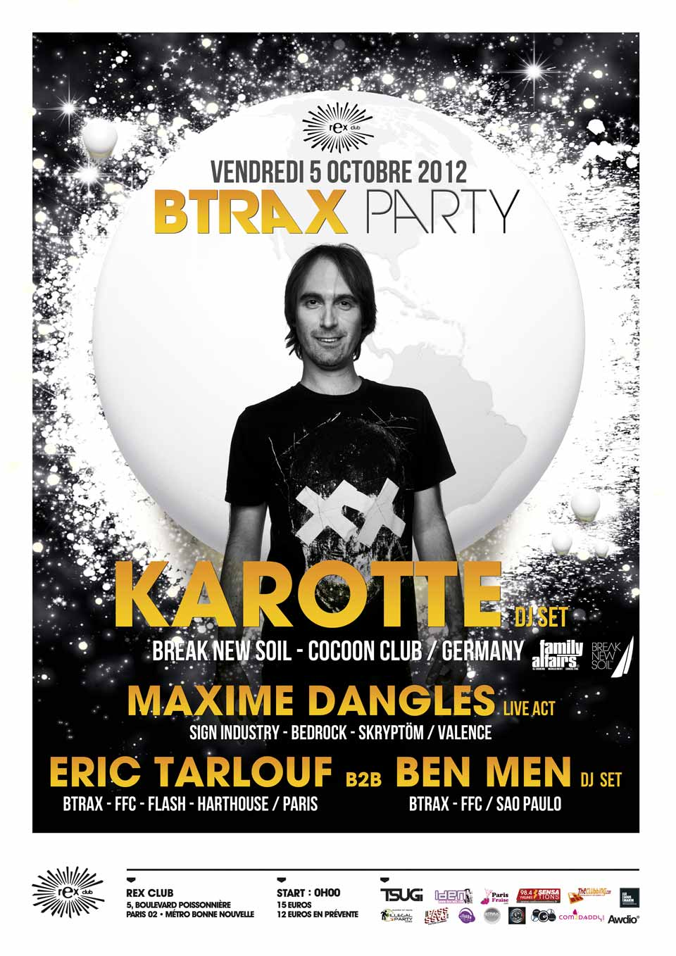 BTRAX party 05.10.2012