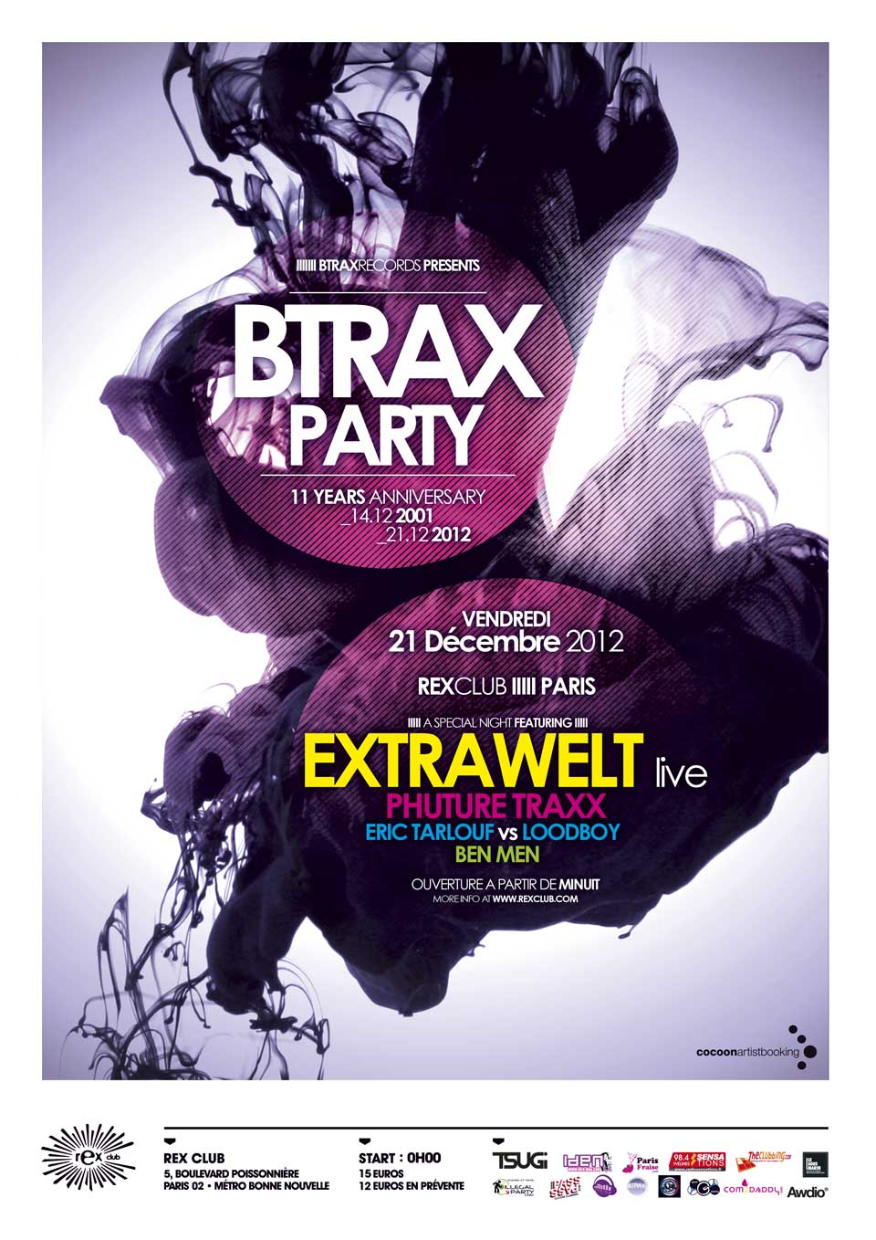 BTRAX party 21.12.2012