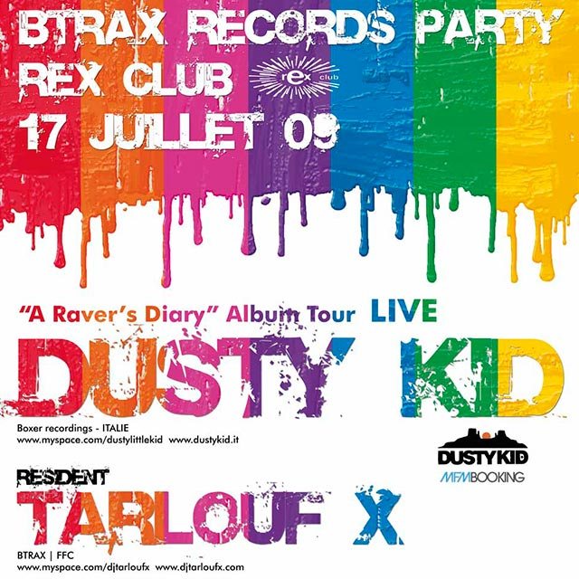 BTRAX party 17.07.09