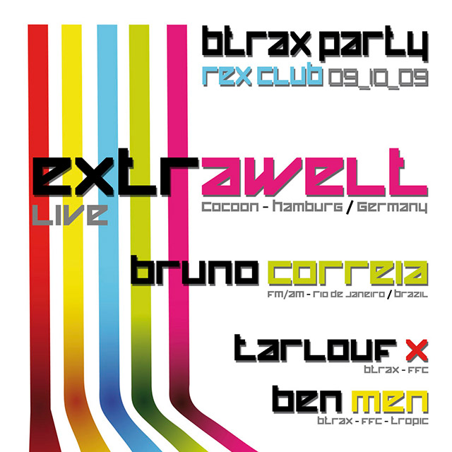 BTRAX party 09.10.09