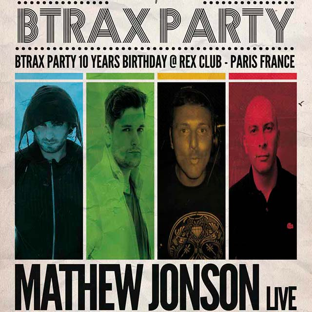"""BTRAX party 02.12.11 """"10 years bday"""""""