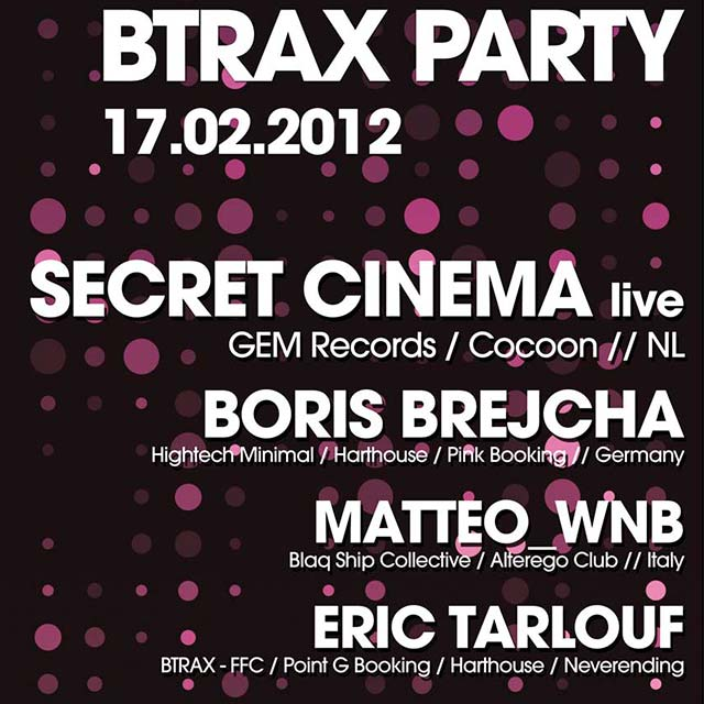 BTRAX party 17.02.12
